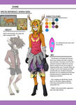 RikDik Character Design Contest: Shane by Destron23