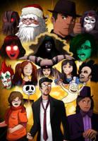 Nostlagia Critic DVD Art Contest Entry by Destron23