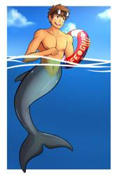 The Dolphin Lifeguard 2 by Destron23