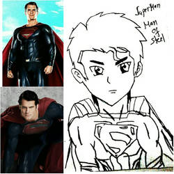 Batman v Superman: Dawn of Justice Superman by 13josh16