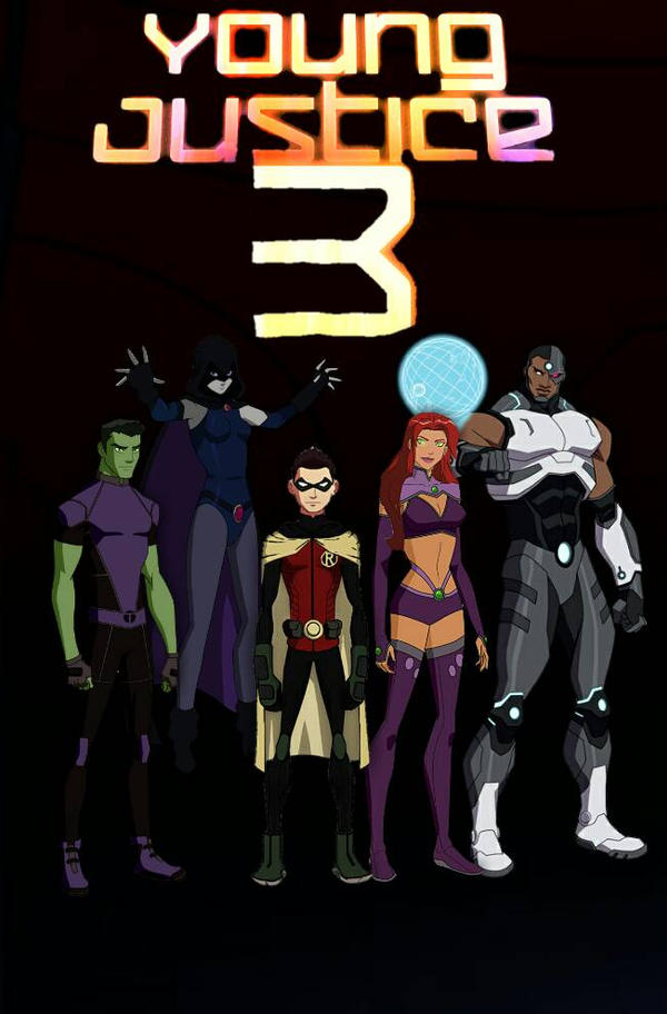 young justice season 3 by 13josh16 on deviantart
