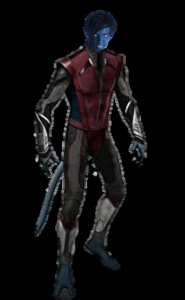 X-Men Apocalypse: Nightcrawler Transparent by 13josh16 on