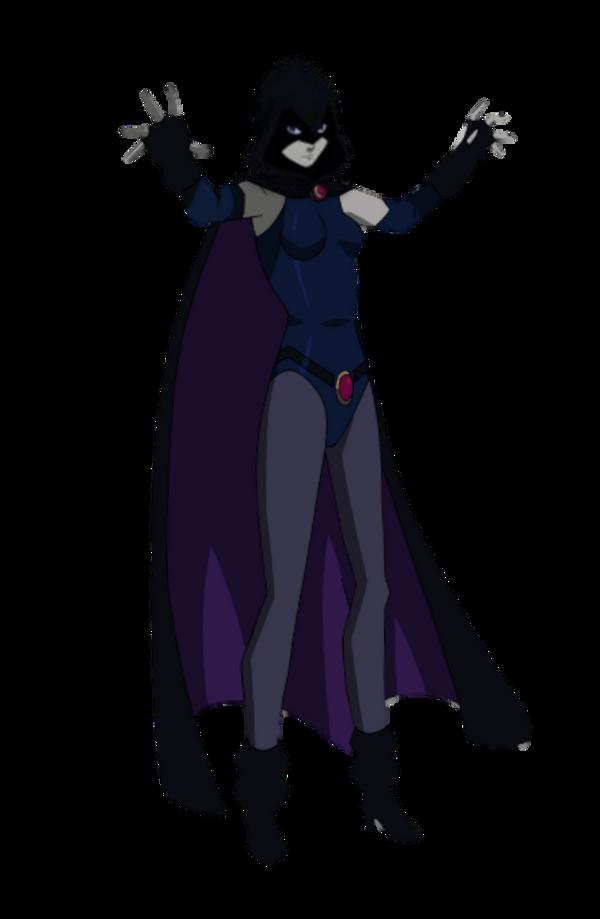Teen Titans Judas Contract Raven Transparent By 13Josh16 -1221