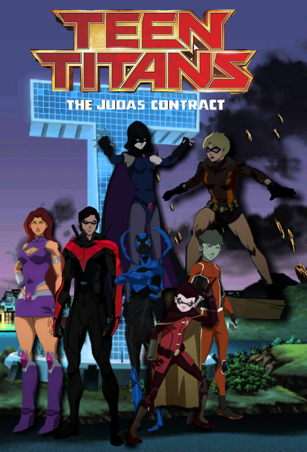 from Donald watch teen titans the judas contract
