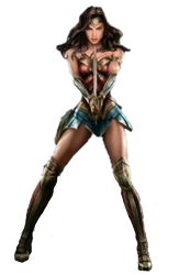 Wonder Woman Movie: Wonder Woman Transparent by 13josh16