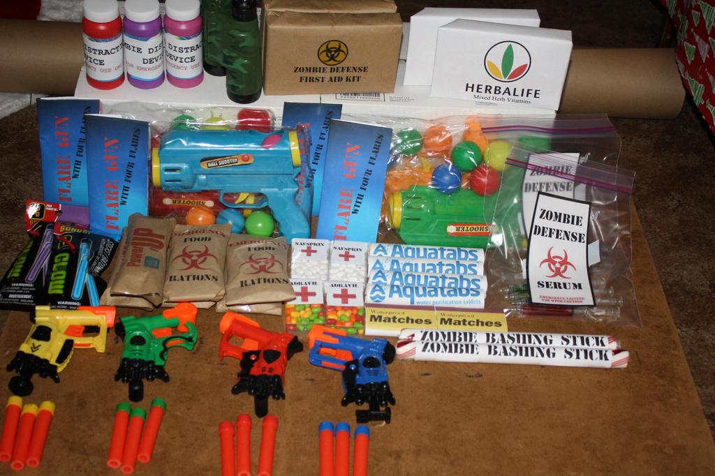 Zombie Survival Candy Kit by Darkwisher93 on DeviantArt