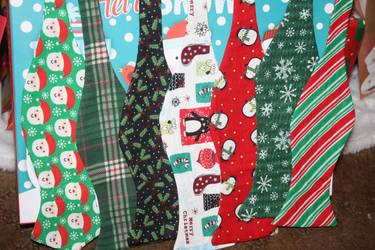 Christmas Bow Ties by Darkwisher93
