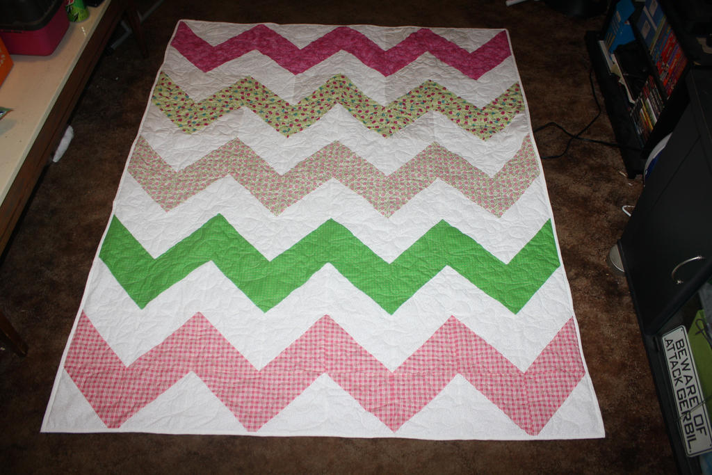 Chevron Quilt by Darkwisher93