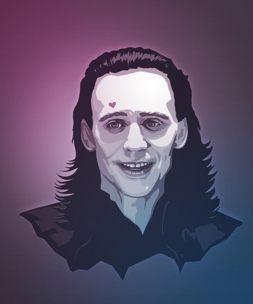 Loki Valentine's Card by trzecipromien