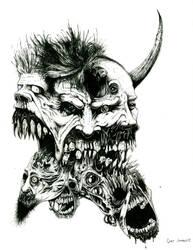 With Their Flesh-He'll Create by MAGGOTDETH