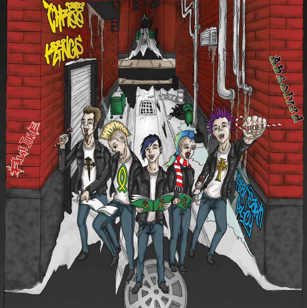 Christmas Album Cover Art.Punk Christmas Album Cover Art By Crucifer01 On Deviantart
