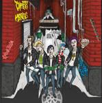 Punk Christmas album Cover art