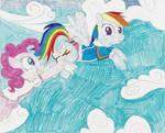 Request - Pinkie pantses Dash