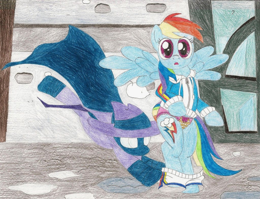 Request - Mare Do Well pantses Dash by wjmmovieman