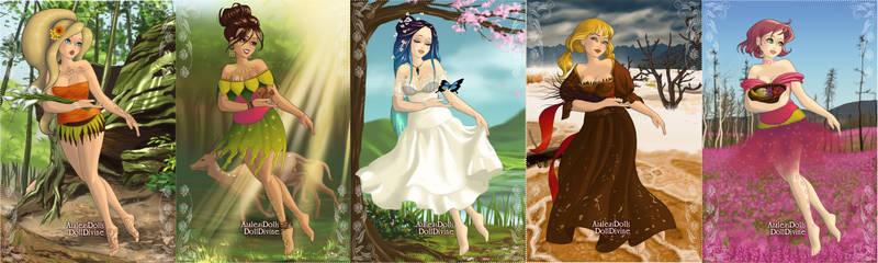 Naruto Girls: Earth