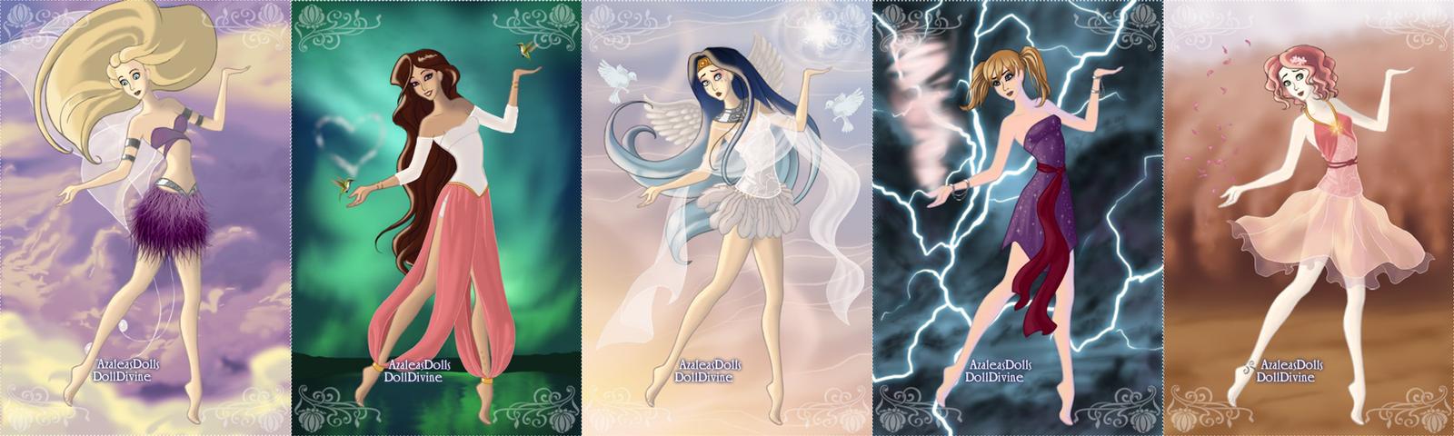 Naruto Girls: Air by Sasuke4Tenten