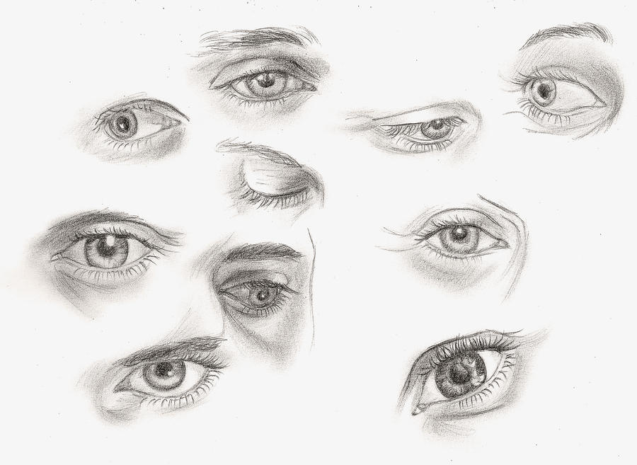 Guess Who Has The Most Beautiful Eyes... By ShinyDarkness On DeviantArt