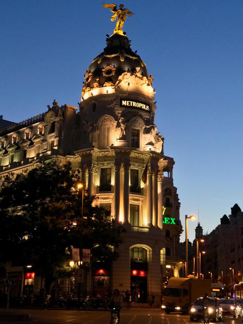 Metropolis Madrid - Night by mishkadance