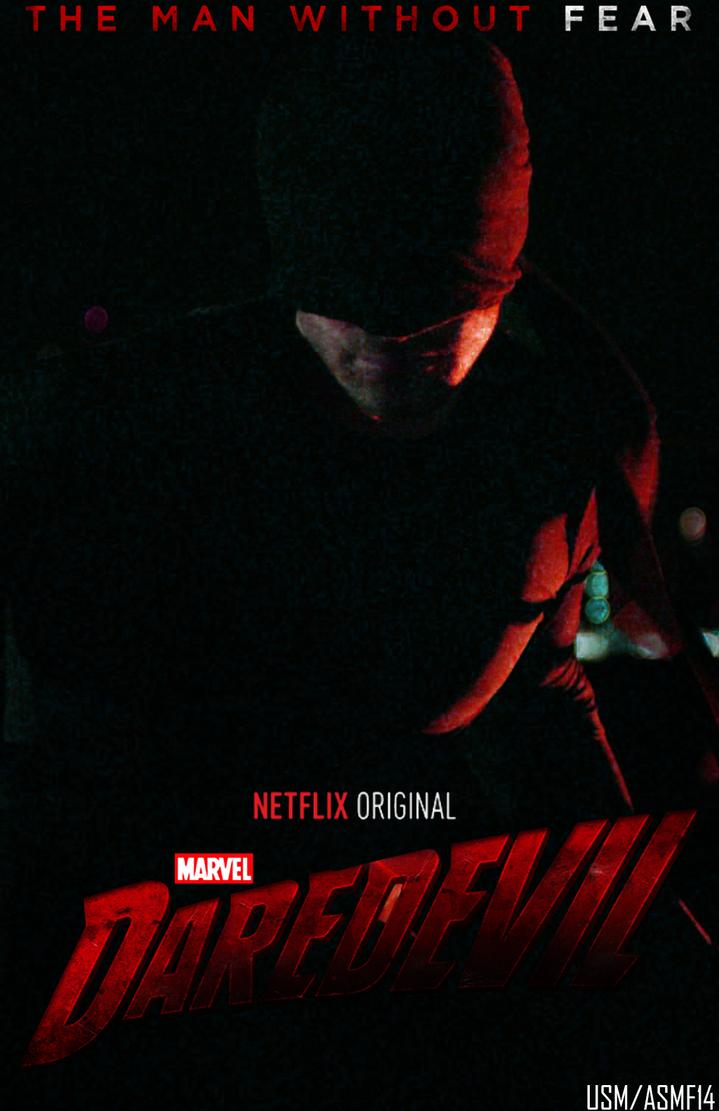 Daredevil Netflix Poster by UltimateSpideyFan on DeviantArt