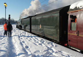 A4 STREAMLINED PACIFIC IN SNOW by carlos62