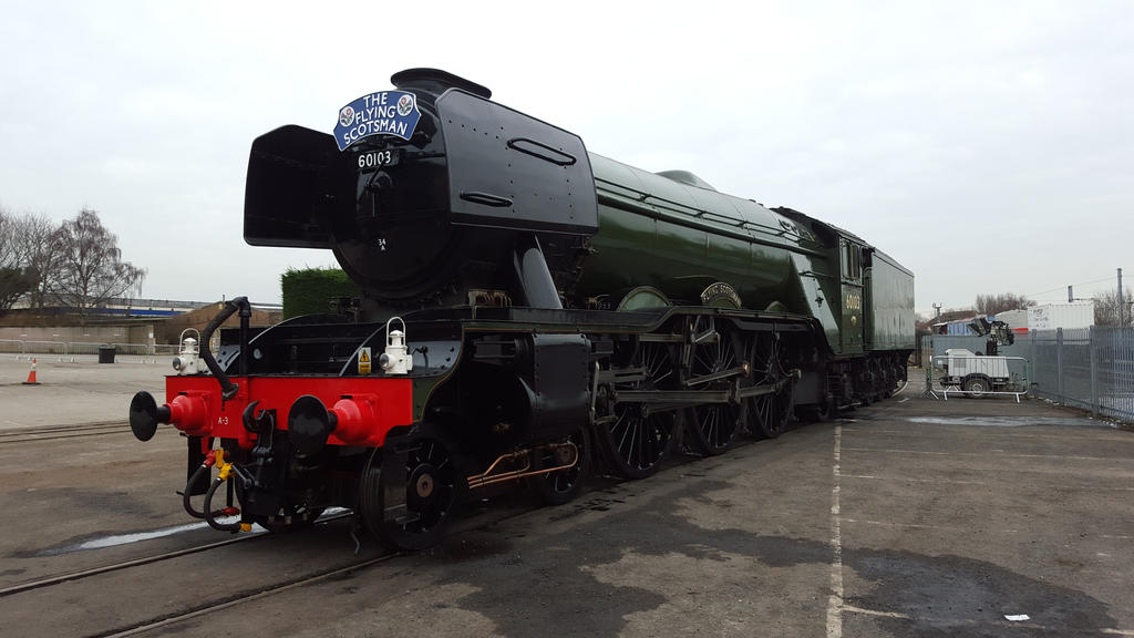 The Flying Scotsman by carlos62