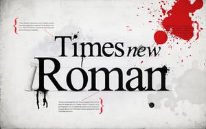 Times New Roman. by mindCollision
