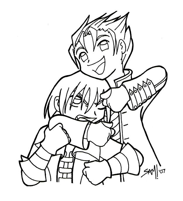 Dante + Vergil Brotherly Love by samanthawagner