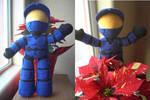 Halo Plush - Red vs Blue - Caboose