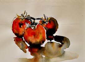 Tomatoes by BRipin