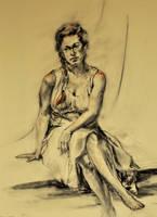 Sonia in Sun Dress by BRipin