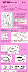 Freehand Lineart Tutorial by caydett