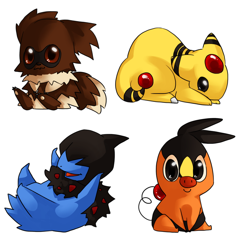 Chibi Legendaries   All About Pokémon