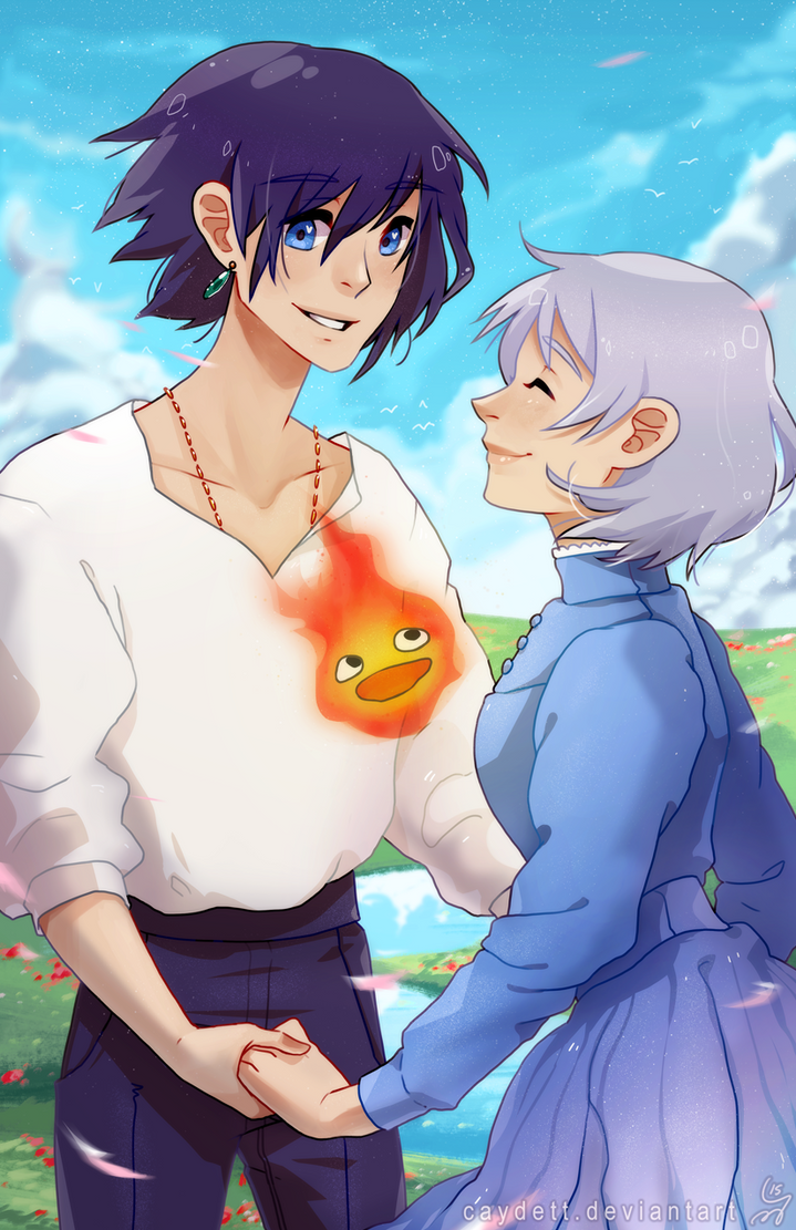 howl and sophie by caydett on DeviantArt