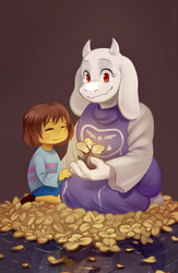 undertale by caydett