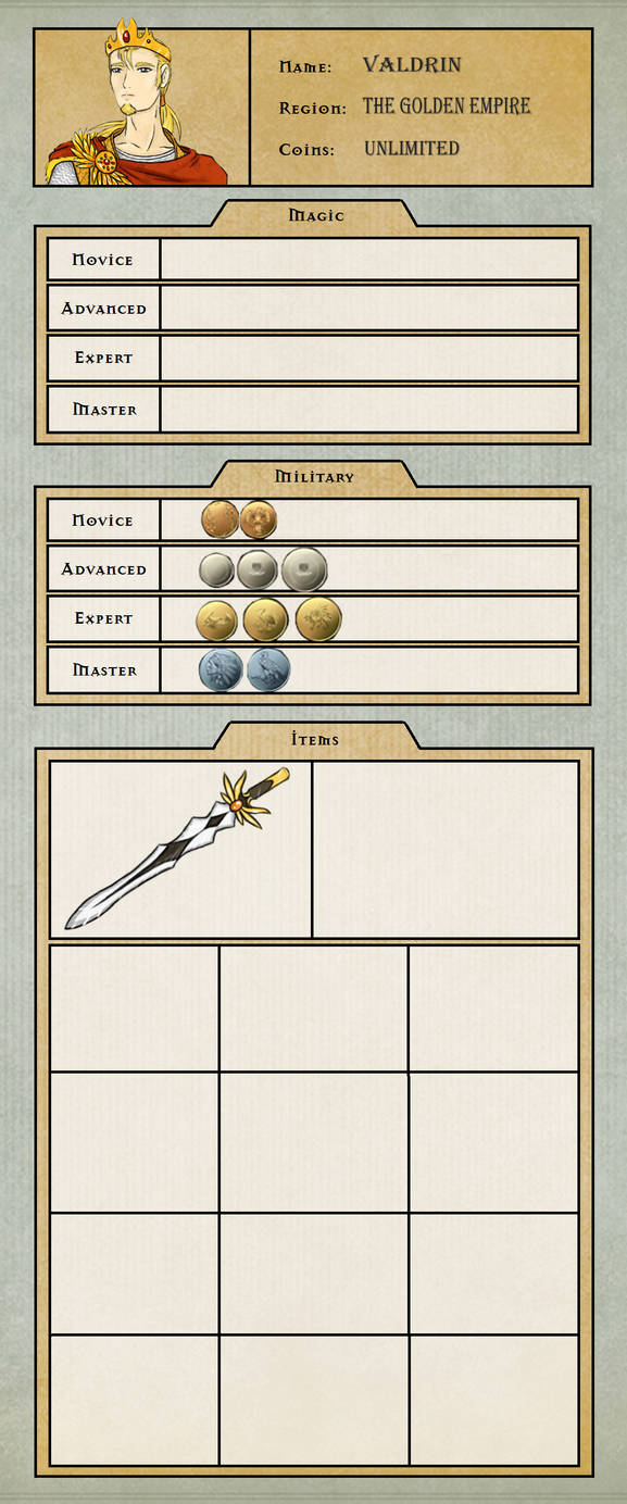 Valdrin Item Tracker