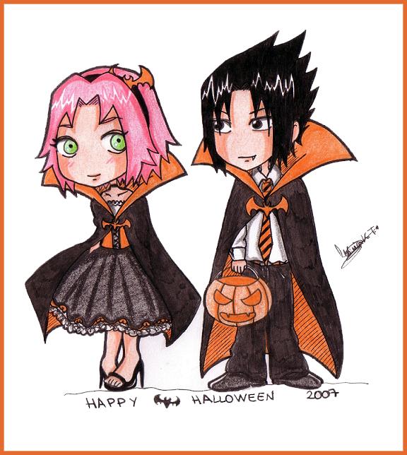 ��� ���� ���� �� ��� �������� (��� �������) ����� � ���� sasusaku_Halloween_b