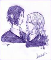 Snape - HP spoiler by MoniSaku