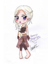 Daenerys Targaryen chibi