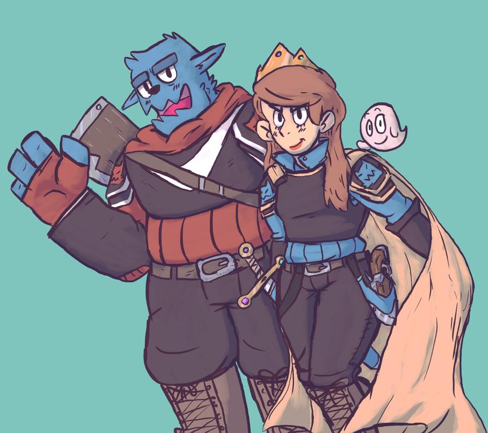 Adventurers! by Pikachuvz
