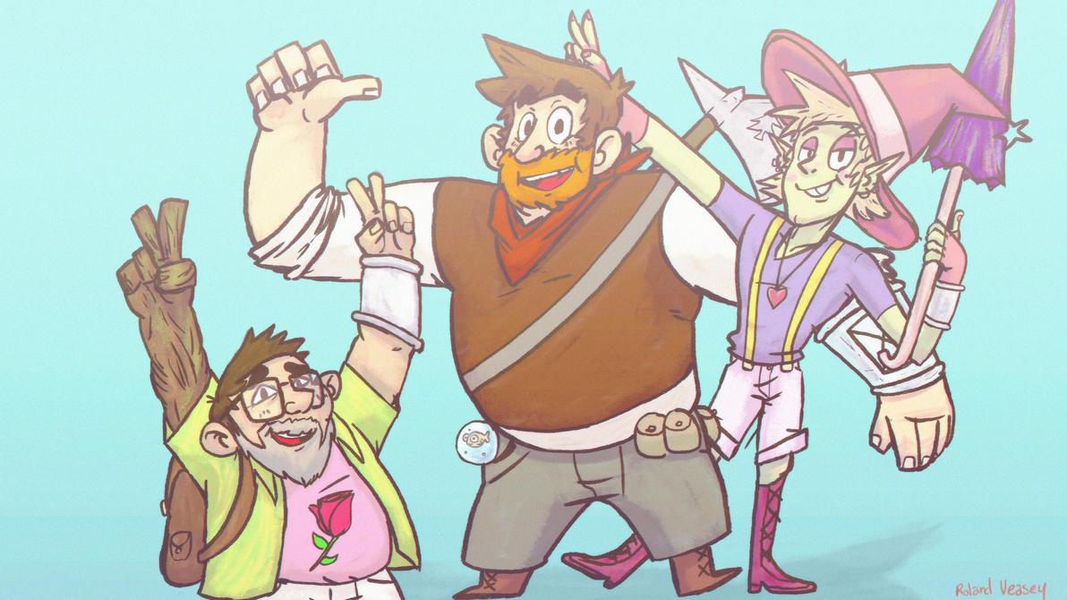 The Adventure Zone!!! by Pikachuvz