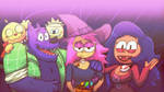 Enid And Co - OK KO Fanart
