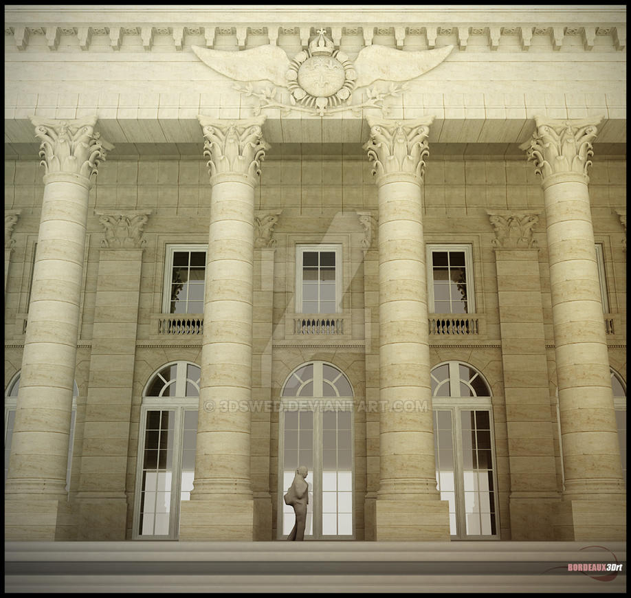 Bordeaux3Drt: Grand Theatre 02 by 3Dswed