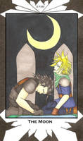 The Moon - Zack and Cloud