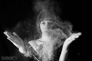 Galaxy in my hands by Demonrat