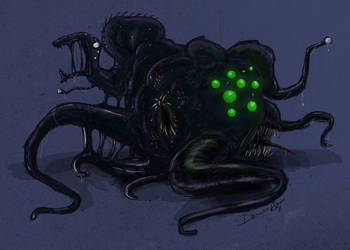 Shoggoth by Demonrat