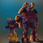 Transformers - Impactor and Strika (Commission)