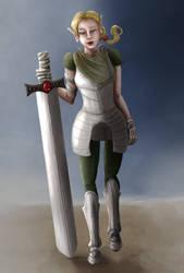 Just an Elf Fighter