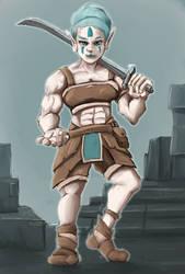 Just an Elf Barbarian