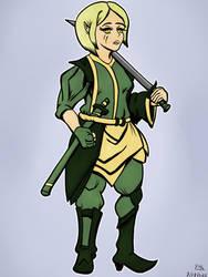 Again an Elf Warrior