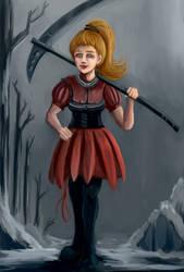 Valkya the Warrior -  Scythe User
